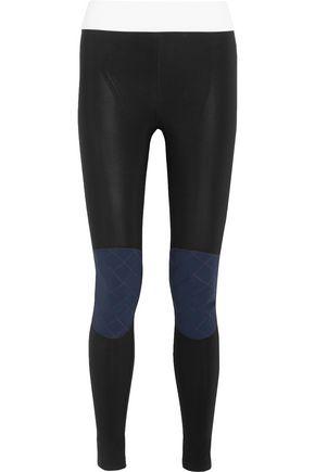 NO KA 'OI Kina paneled stretch leggings
