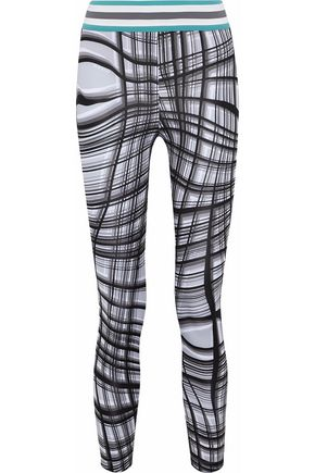 NO KA 'OI Printed stretch leggings