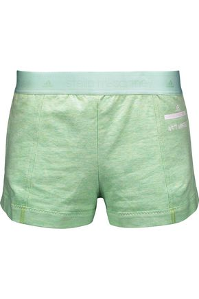 ADIDAS by STELLA McCARTNEY Low Waste cotton-blend jersey shorts