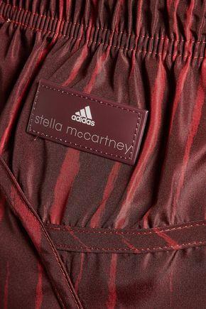 ADIDAS by STELLA McCARTNEY Perf printed shell shorts