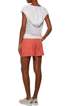 ADIDAS by STELLA McCARTNEY Cotton-canvas shorts
