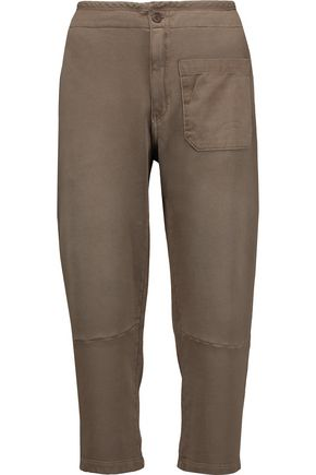 CURRENT/ELLIOTT The Military cotton-terry pants