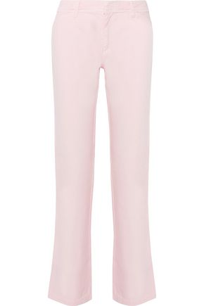 PHILOSOPHY di LORENZO SERAFINI Cotton straight-leg pants