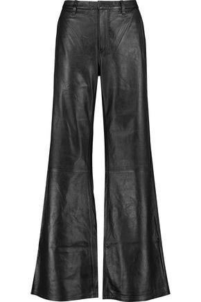 J BRAND Carine leather wide-leg pants
