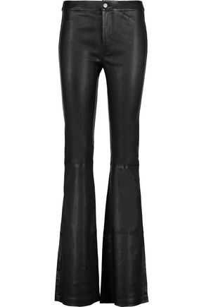 J BRAND Vivia stretch-leather flared pants
