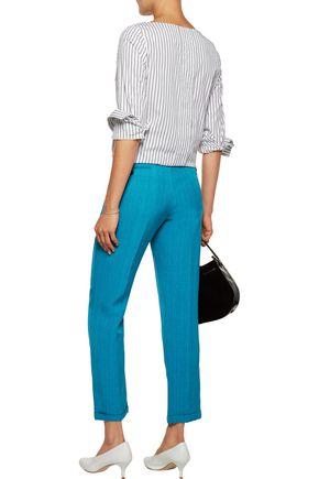 MARNI Woven straight-leg pants