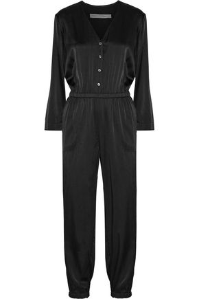 RAQUEL ALLEGRA Silk-satin jumpsuit