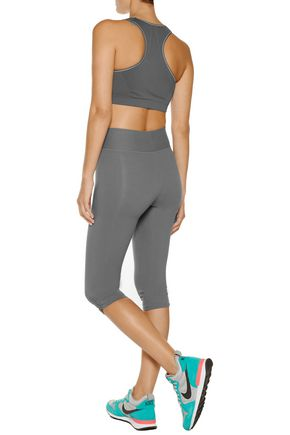 YUMMIE by HEATHER THOMSON® Candace stretch cotton-blend cropped pants