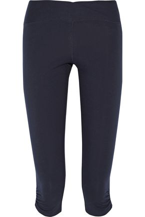 YUMMIE by HEATHER THOMSON® Candace cropped stretch-cotton leggings