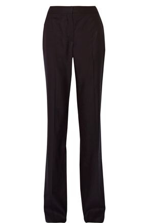 MAX MARA Houndstooth wool-blend straight-leg pants