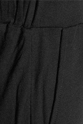 MAJESTIC Cropped jersey pants