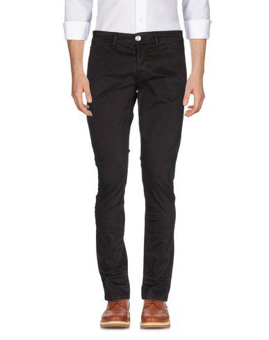 Фото - Повседневные брюки от SIVIGLIA темно-коричневого цвета
