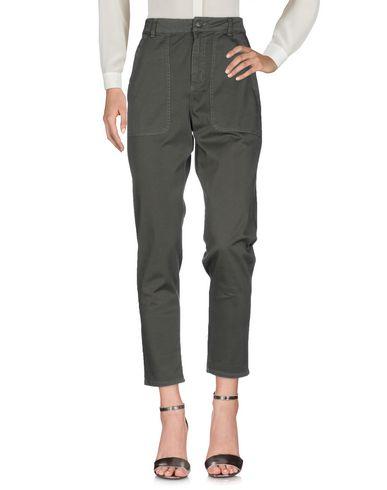 Купить Повседневные брюки от SCEE by TWINSET цвет зеленый-милитари