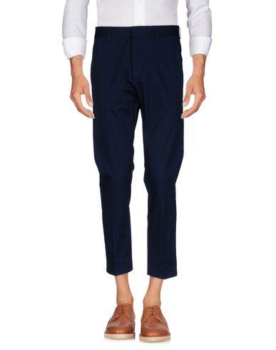 Фото - Повседневные брюки от LOW BRAND темно-синего цвета