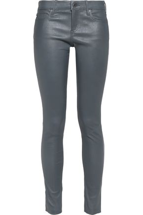 AG ADRIANO GOLDSCHMIED Leather skinny pants