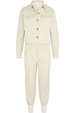 aa9a5328f2a Linen and cotton-blend twill jumpsuit | SONIA RYKIEL | Sale up to 70 ...