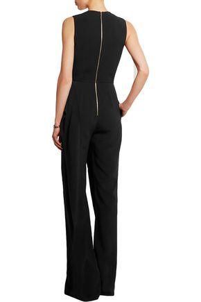 ELIE SAAB Ruffled crepe jumpsuit
