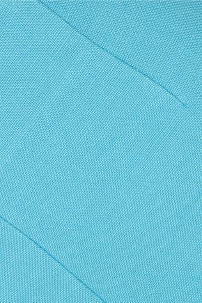 ISA ARFEN Linen and cotton-blend wide-leg pants