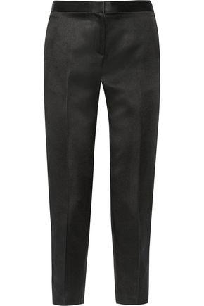 THE ROW Locu silk-satin tapered pants
