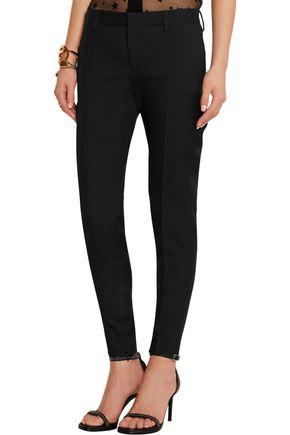 SAINT LAURENT Wool-gabardine skinny pants