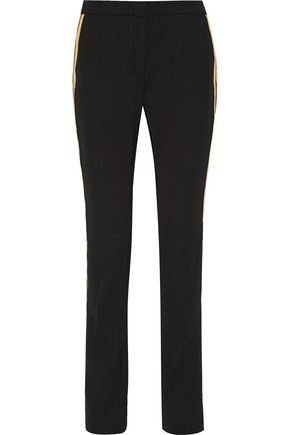 LANVIN Wool-gabardine straight leg pants