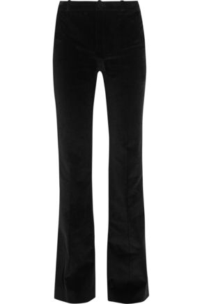 BOUCHRA JARRAR Cotton-corduroy flared pants