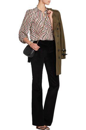 BOUCHRA JARRAR Cotton-corduroy flared pants