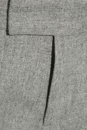 RAG & BONE Winnie wool-blend flannel straight-leg pants