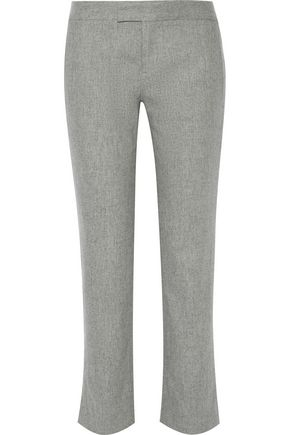 RAG & BONE Winnie wool-blend flannel straight-leg pants