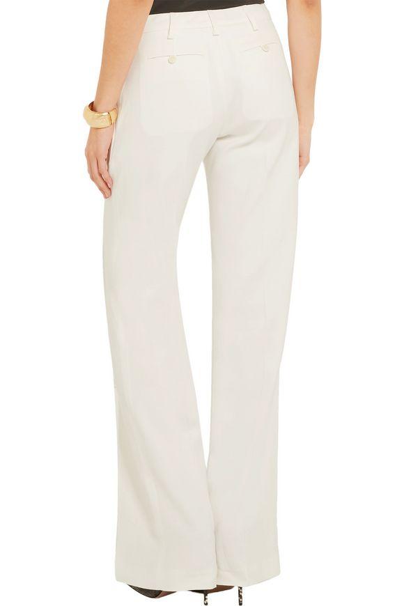 Tom slub stretch-crepe flared pants | ALTUZARRA | Sale up to 70% off | THE  OUTNET