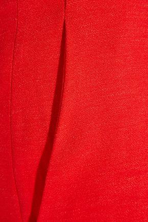 ALTUZARRA Tom slub stretch-crepe flared pants