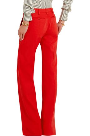 ALTUZARRA Tom stretch-crepe flared pants