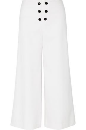 PROENZA SCHOULER Stretch-wool wide-leg pants