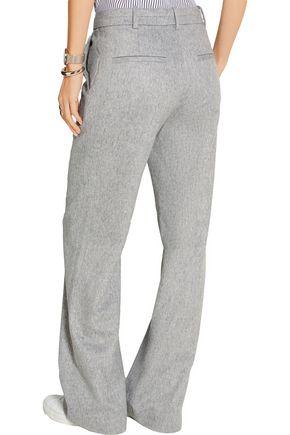 RAG & BONE Aggie brushed wool-blend wide-leg pants