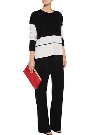 10 CROSBY DEREK LAM Crepe wide-leg pants