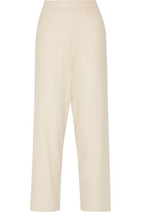LEMAIRE Cotton-gauze straight-leg pants