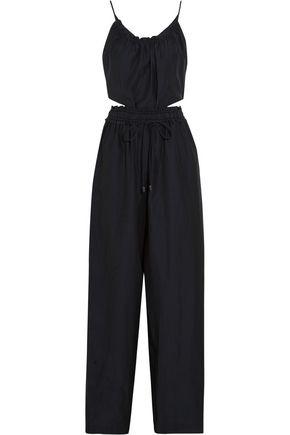 3.1 PHILLIP LIM Cutout silk and cotton-blend jumpsuit