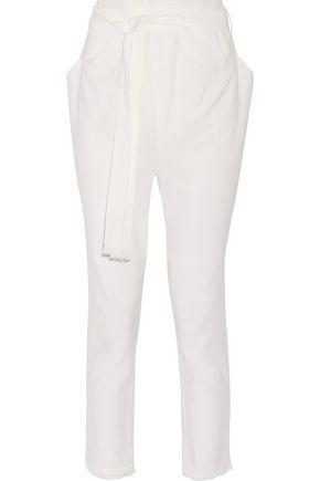 ISABEL MARANT Igor linen-blend tapered pants