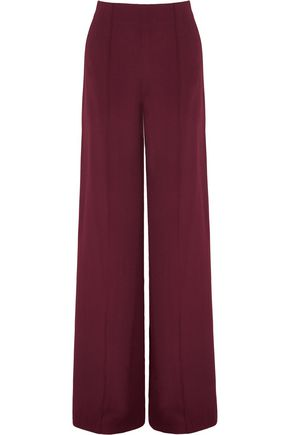 ADAM LIPPES Crepe wide-leg pants