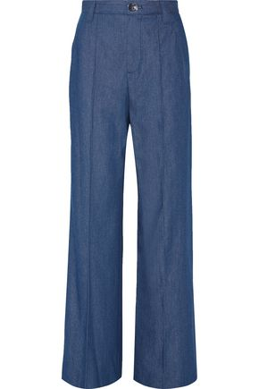 MARC JACOBS Bowie denim wide-leg pants