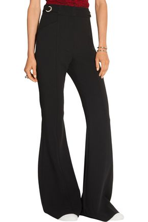 PROENZA SCHOULER Embellished stretch-wool flared pants