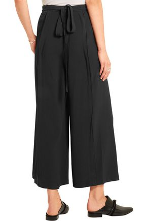 PROENZA SCHOULER Pleated crepe wide-leg pants