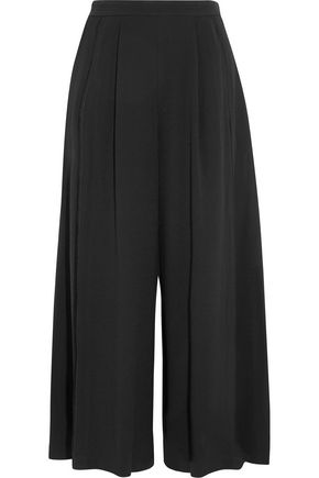 PROENZA SCHOULER Pleated crepe wide-leg pants
