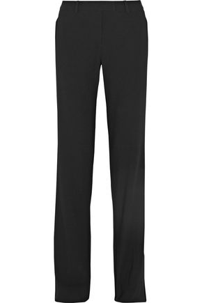 MICHAEL KORS COLLECTION Straight-leg wool pants