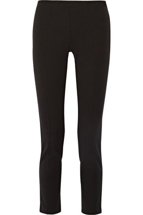 MICHAEL KORS COLLECTION Stretch-twill straight-leg pants