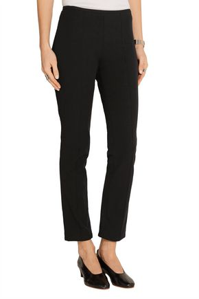 MICHAEL KORS COLLECTION Stretch-twill straight-leg pants