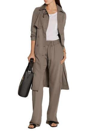 TOMAS MAIER Belted wool wide-leg pants