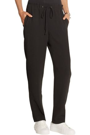 THEORY Crepe slim-leg pants