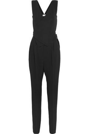 LANVIN Crepe wrap jumpsuit