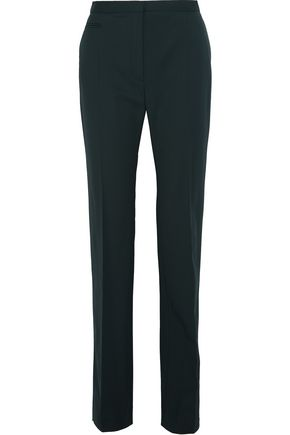 LANVIN Stretch-wool straight-leg pants